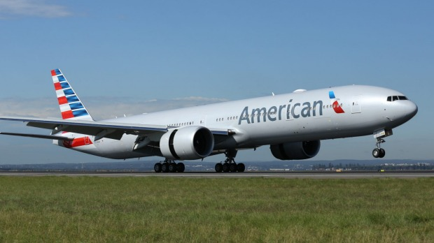 American Airlines Boeing 777-300ER.
