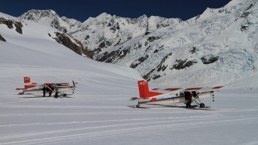 In 1955, tourism pioneer Sir Henry Wigley successfully landed a plane on the Tasman glacier. Over 60 years later, Mount ...