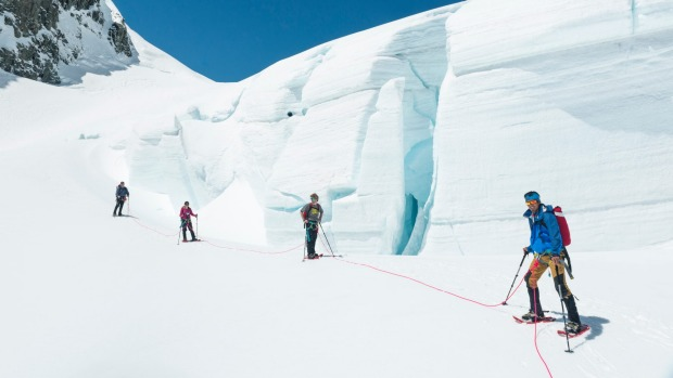 Mt Cook Glacier Guiding.