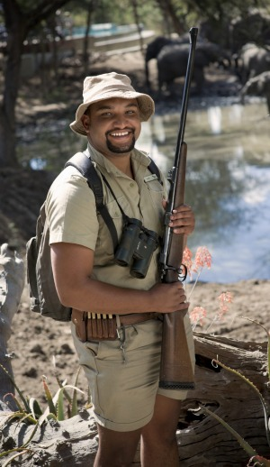Ngala Safari Lodge rangers are friendly, knowledgeable and very well armed.
