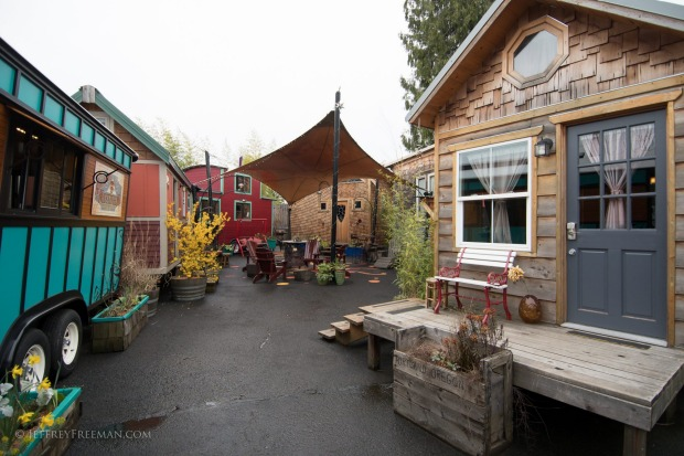 Caravan - The Tiny House Hotel in Portland, Oregon.