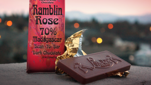 Lillie Belle's Ramblin' Rose 70 per cent bar.