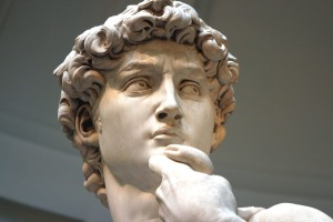 Michelangelo's statue of David can be found in which city?