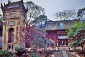 Traditional architecture abounds in Xian.