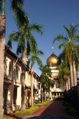 The Sultan Mosque in Singapore.