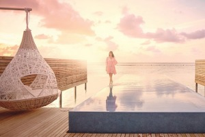Enjoy five-star LUX* South Ari Atoll in the Maldives.