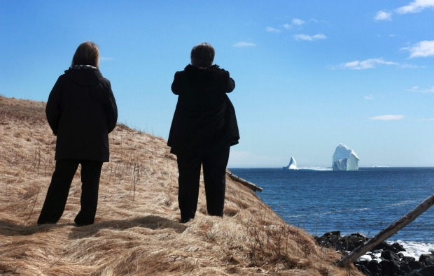 "The region is not unused to icebergs - the area off the coast is known as ""iceberg alley"" - but the town's mayor,  ..."