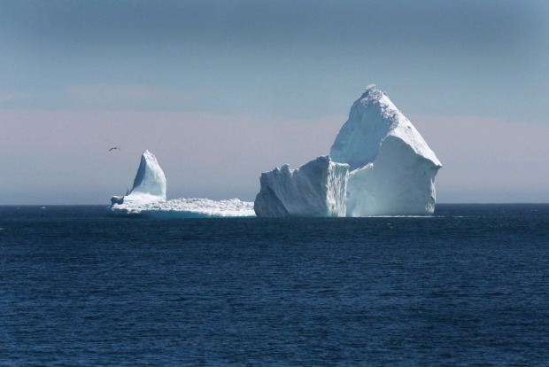 More than 400 icebergs have drifted into the North Atlantic shipping lanes over the past week in an unusually large ...