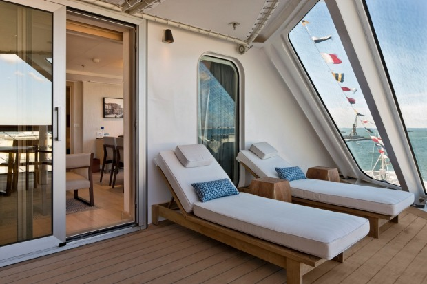 Private space: Viking Sky.