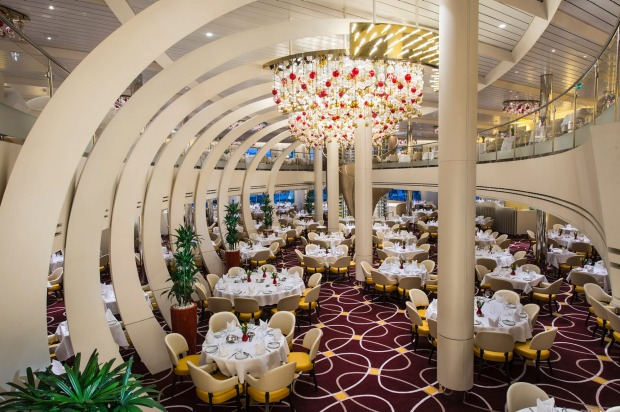 The Dining Room on Holland America Koningsdam.