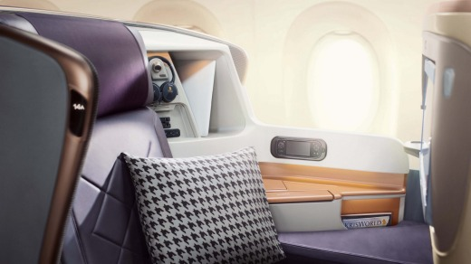 It's hard to imagine business class done better.