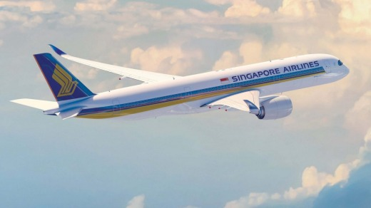 Singapore Airlines A350-900.