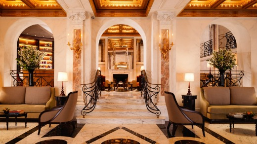 The sumptuous lobby.