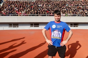 Running into a cheering stadium of North Koreans was a surreal experience for Matt Kulesza.