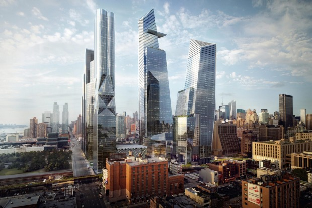 The Hudson Yards - at five million square metres - is the largest private real estate development in the history of the ...