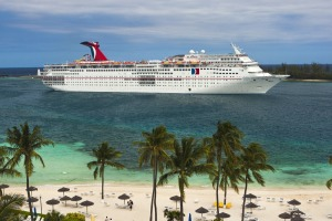 The couple has cruised on the 2056-passenger Carnival Sensation more than 100  times.