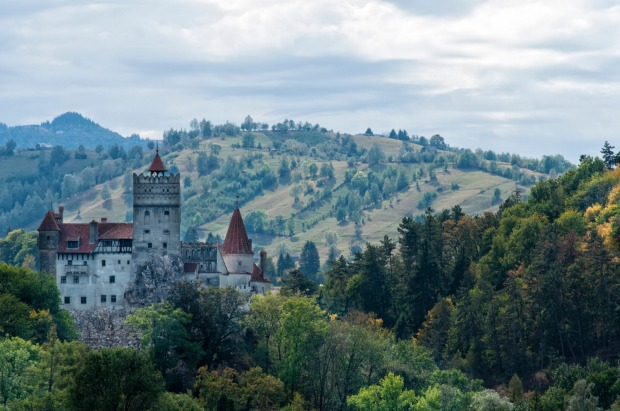 Transylvania is dotted with spectacular castles.