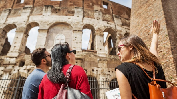 Working as a tour guide means you get to see all of the destinations the paying clients see.