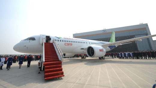 China's answer to the Boeing 737 and its state-owned designers face a daunting phase: selling the jet abroad in a market ...