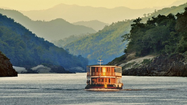 The journey aboard the Laos Pandaw is about the Mekong River and its constantly changing character.