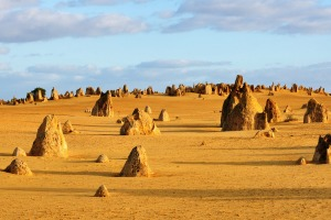 Pinnacles Desert in Nambung National Park, Western Australia.