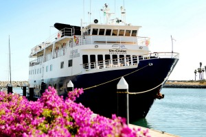 Un-Cruise Adventures' newly refitted Safari Voyager sails between Colon and Panama City until November this year.