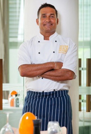 Noosa Beach House restaurateur Peter Kuruvita.