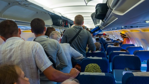 Airlines use an estimated average weight of passengers to determine how heavy an aircraft will be.