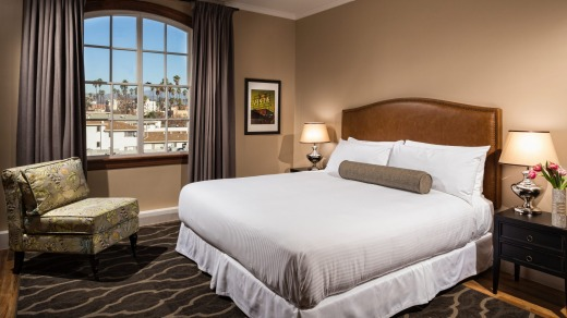 Hotel Normandie rooms are compact and simply furnished.