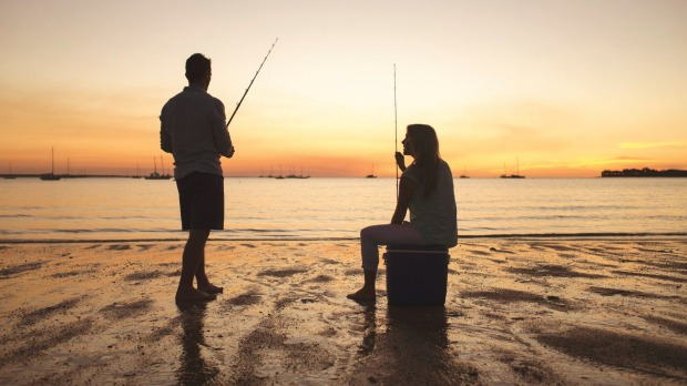 Every fisherman's true passion is talking about fish while waiting for a bite on their lines.