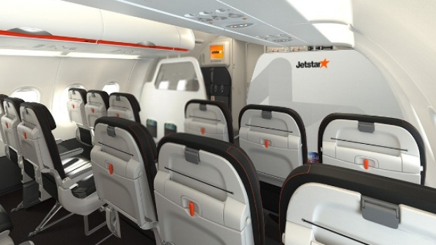 Jetstar squeezes six more seats onto Airbus A320, but say legroom