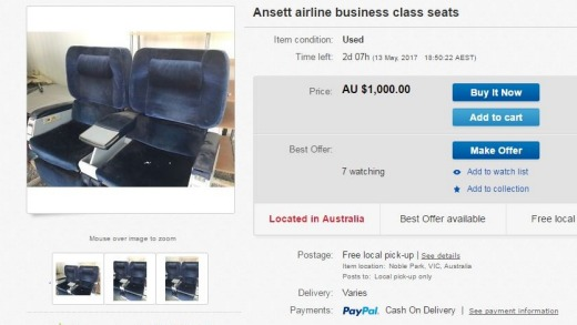 Remember Ansett? You can grab seats from the former airline for $1000.