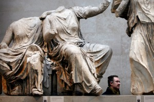 Where will you find the Elgin Marbles?