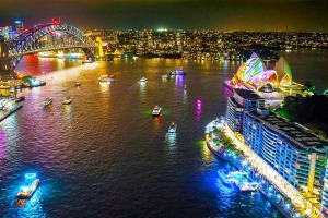 The bright lights of Vivid Sydney are always a brilliant sight to behold.
