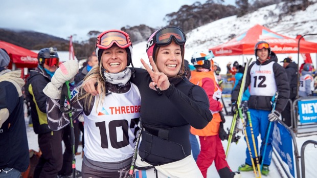 You'll have a better circle of friends after a ski trip to Thredbo.