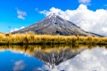 Pouakai Crossing: Mount Taranaki in all its symmetry.