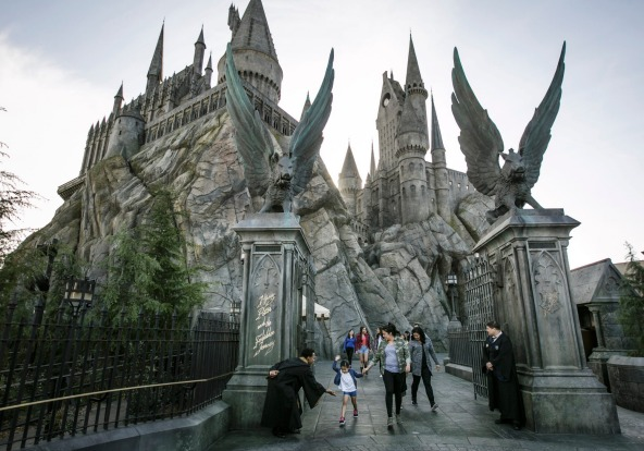 Enter the Wizarding World of Harry Potter.