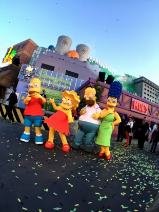 Springfield has been expanded at Universal Studios.