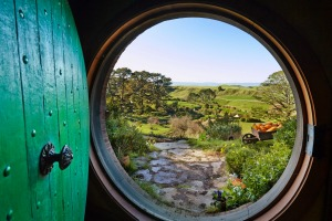 Hobbiton really brings The Lord of the Rings books to life.