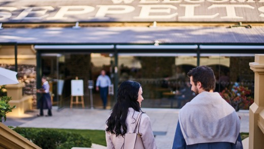 Or take in the culinary delights of the Barossa.