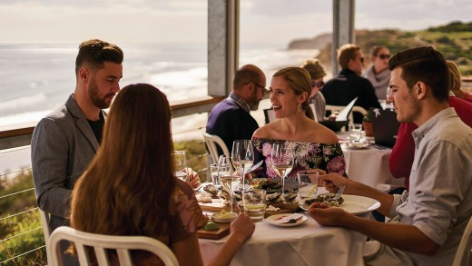 Day trip to the spectacular Star of Greece restaurant at Port Willunga.