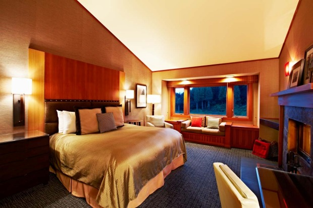 A suite at the Salish.