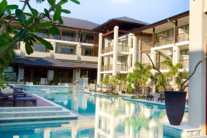 Santai Retreat is a Balinese-inspired property that offers 100 spacious self-contained apartments.