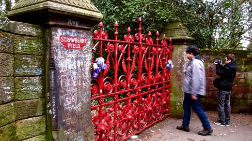 John Lennon immortalized Strawberry Field, a former children's home in Liverpool, in The Beatles' hit song Strawberry ...