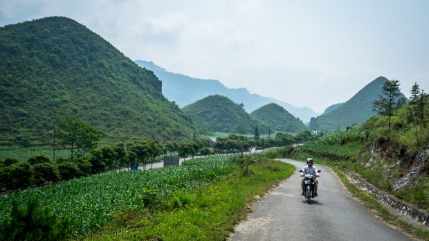 Riding Vietnam's Ha Giang motorbike loop is best done at a leisurely speed.
