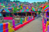 The Indonesian village of Kampung Pelangi has had a facelift.