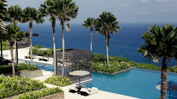 Nature combined with luxury: Alila Villas, Uluwatu, Bali.