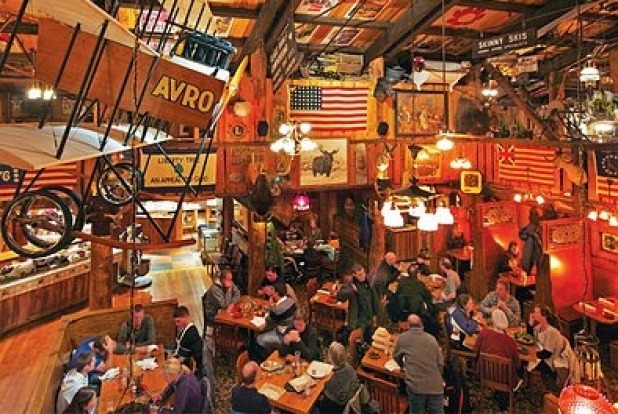 The Mangy Moose Saloon, Jackson Hole, US.