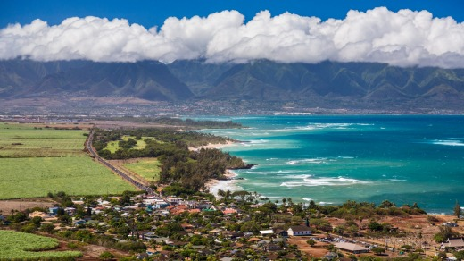 The couple will be heading to Maui for their first date.