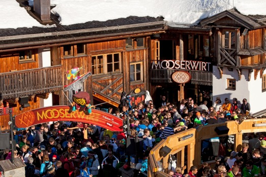 MooserWirt, St Anton, Austria: The MooserWirt is typical ski in, stumble out, dance on tables from mid-afternoon in the ...